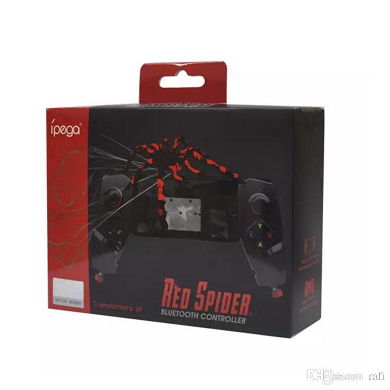 HOT IPEGA PG - 9055 Red Spider Wireless Bluetooth Gamepad Teleskop Spiel Controller Gaming Joystick für Android IOS Tablet PC