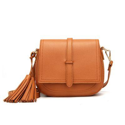 41cabd0fcdb7 Stylish Tasseled Slant Slung Small Bag Ladies  Bag Korean One Shoulder Bag  Cross Border 2018 Hot Style Handbag Satchel Clutch Bags From  Fashion bagstore