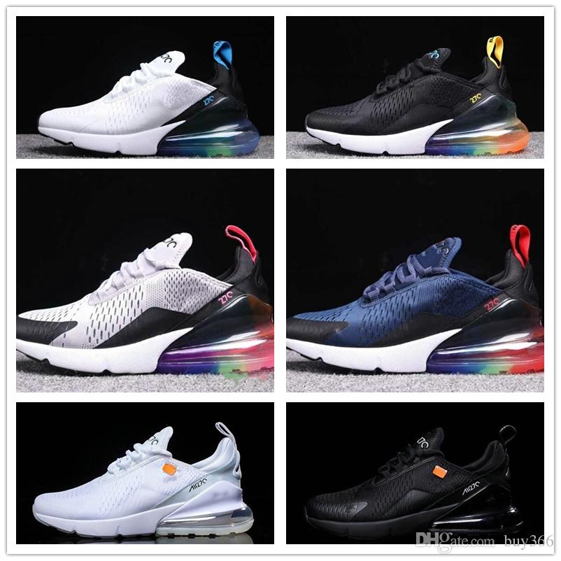 270 BE TRUE Flame Running Shoes 27c Really High Quality White Volt Triple  White Black Punch Teal Women Sneaker Men Trainers Sports Sneakers Men  Running ... 193dcb150