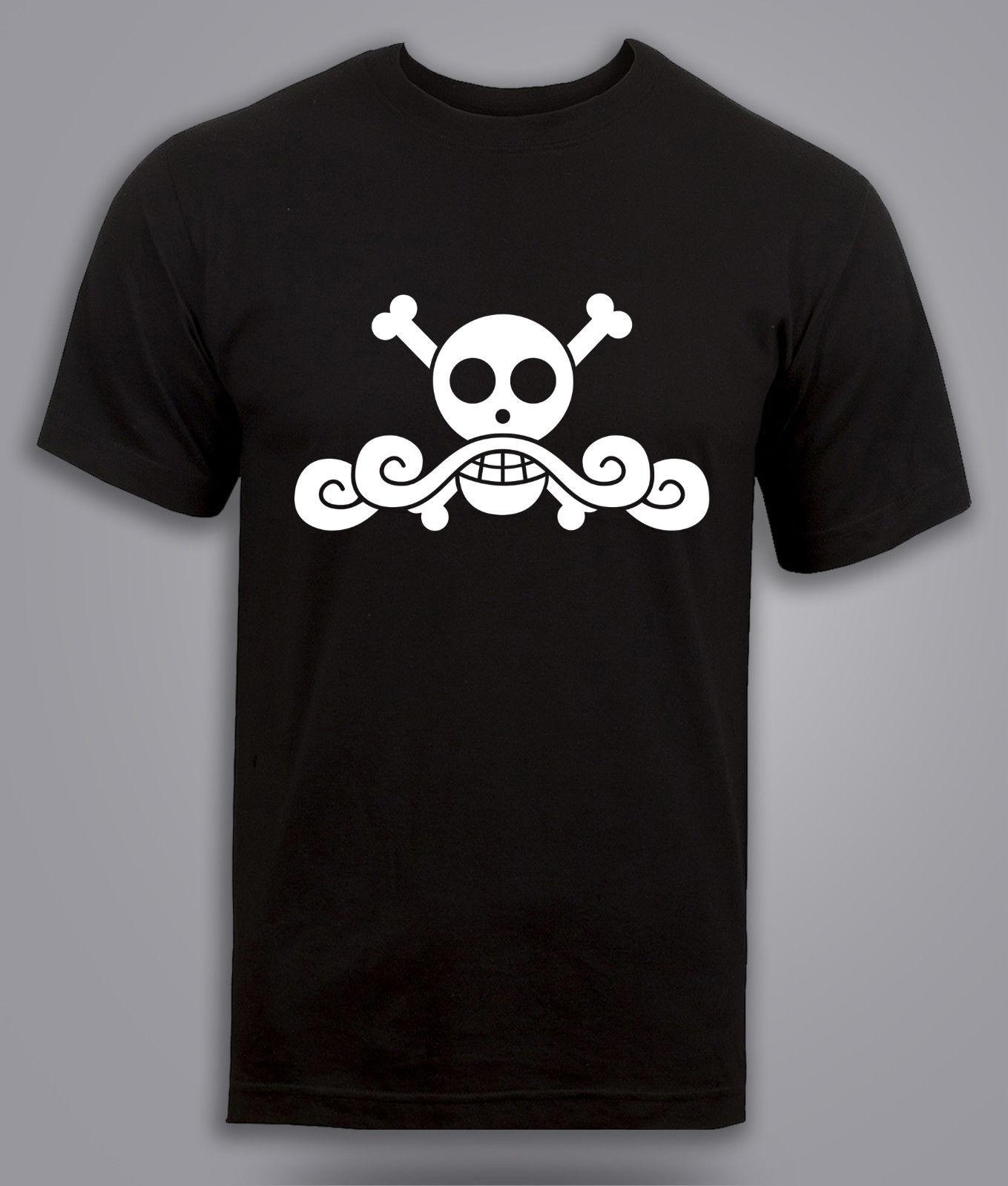 one piece t shirt gold roger pirate king shanks luffy anime tee