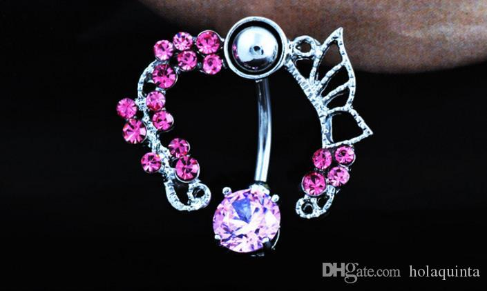 Mamelon Piercing Mode Corps Piercing Gem Pavé Cercle Bouclier Anneaux De Piercing Bijoux De Corps pour Femmes Filles