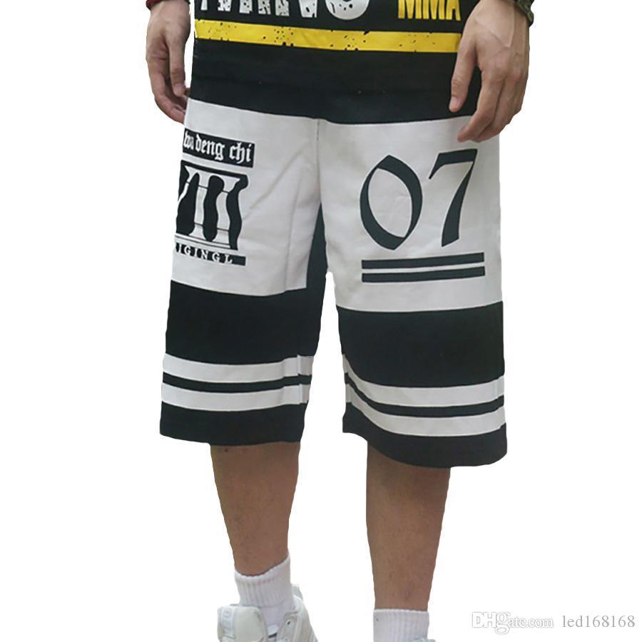 0194f0e50552dd Großhandel Lange Sommer Shorts Männer Hip Hop Plus Size Baggy Herren Kurze  Shorts Fashion Gasp Harajuku Herren Bermuda Jogginghose M 4XL Von  Led168168, ...