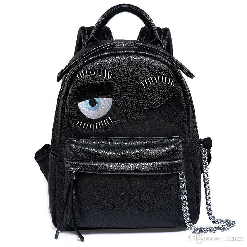 Wholesale- Litchi PU Leather Women Feminia Luxury Brand Design ... 2d94e25bd0ef6