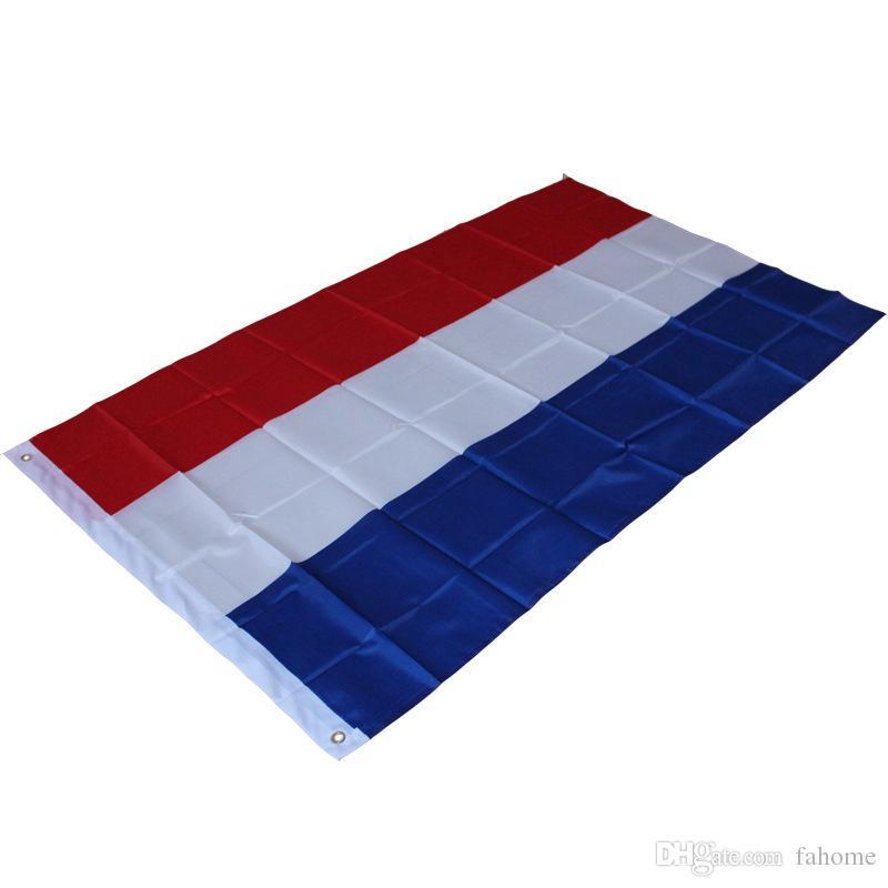 Acquista Grande Bandiera Olandese 3ft X 5ft Poliestere Dutch Holland