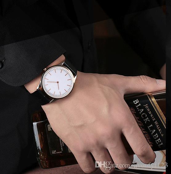 2018 kadın erkek lover kuvars saatler Saatı Ultra-ince alaşım yıldız izle aynı İzle Patlayıcı çift Cenevre izle a545