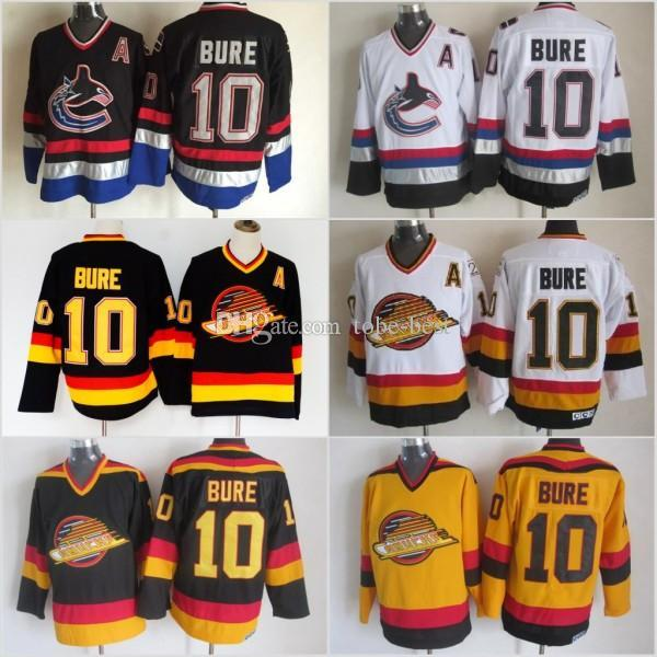 Men Vancouver Canucks Ice Hockey Jerseys Cheap 10 Pavel Bure Vintage Authentic  Stitched Jerseys UK 2019 From Luishen01 76d55f7e8f32