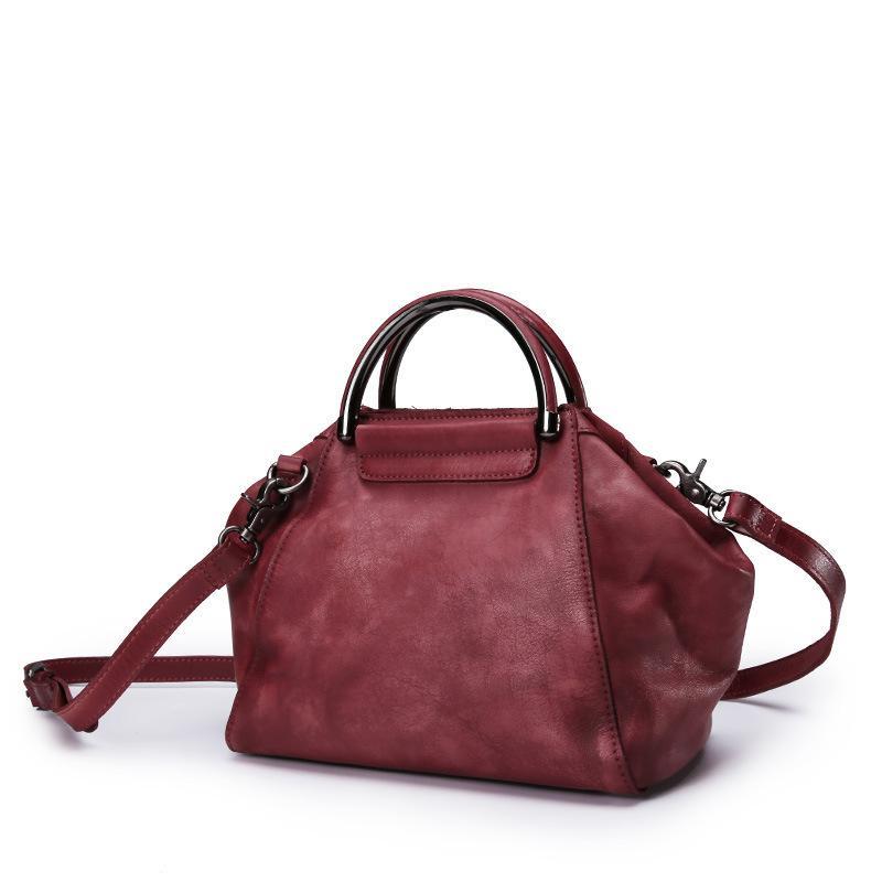 Original Design Vintage Head Layer Cow Leather Female Shoulder Messenger Bag  Genuine Cowhide Women Hobos Tote Handbag For Ladies Hobo Meaning Handbag  Sale ... 919a3c558653a