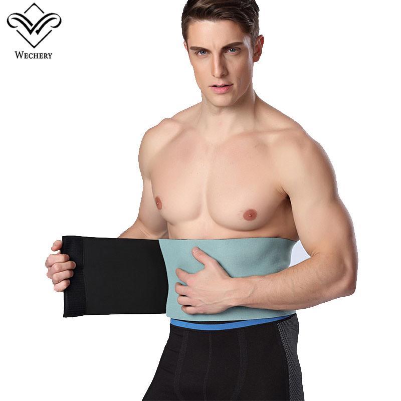 a61137dea0 Wechery Slimming Belt Belly Men Body Shaper Man Corset Abdomen Tummy ...