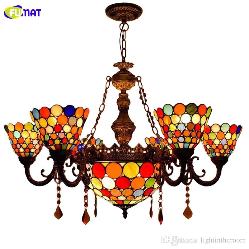 Tiffany Crystal Stained Glass Pendant Lights For Dining Room Lighting  Fixture Country Style Pendant Light Glass Light Pendant Pendant Lighting  Glass From ...
