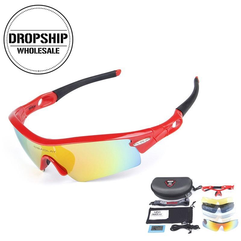 Compre Anit Skid Óculos De Ciclismo Esporte Polarizada Bicicleta Óculos De  Sol Mtb Uv400 Óculos De Proteção Ao Ar Livre Para A Pesca De Corrida De  Condução ... 13068f0e5b