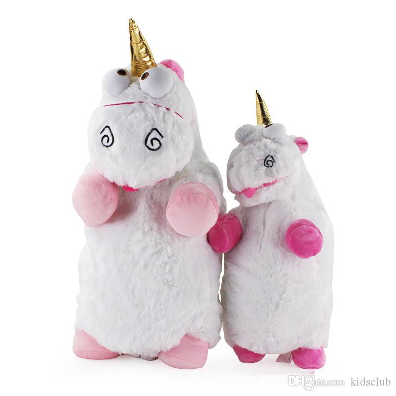 New Despicable I 2 God Steals Milk Dad Cute Soft Yellow People Unicorn Doll Plush Toy Doll Pillow