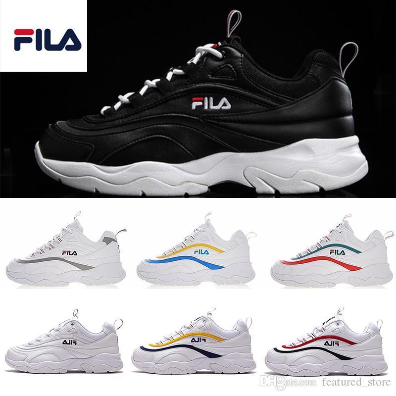 All Course Qualité Chaussures Blanc Ii Acheter 2 Fila Haute De Rf8axqp
