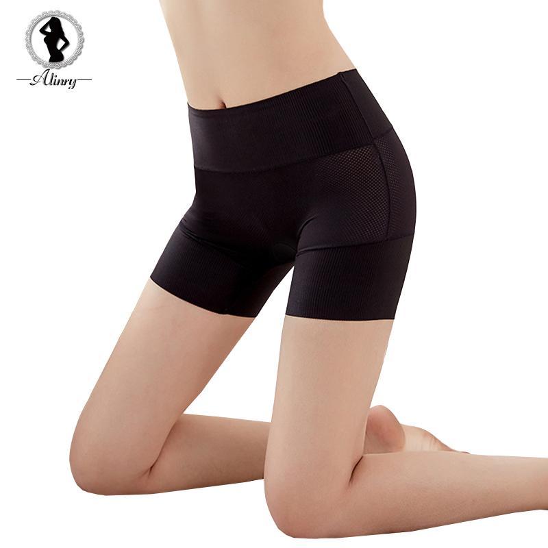 Acheter Alinry Sécurité Shorts Femmes Pantalons Sans Couture Pantalons Sous  Vêtements Respirants Sous Les Jupes Shorts Slim Doux Shorty Boxer Femme  Chaude ... d308d3c33d7