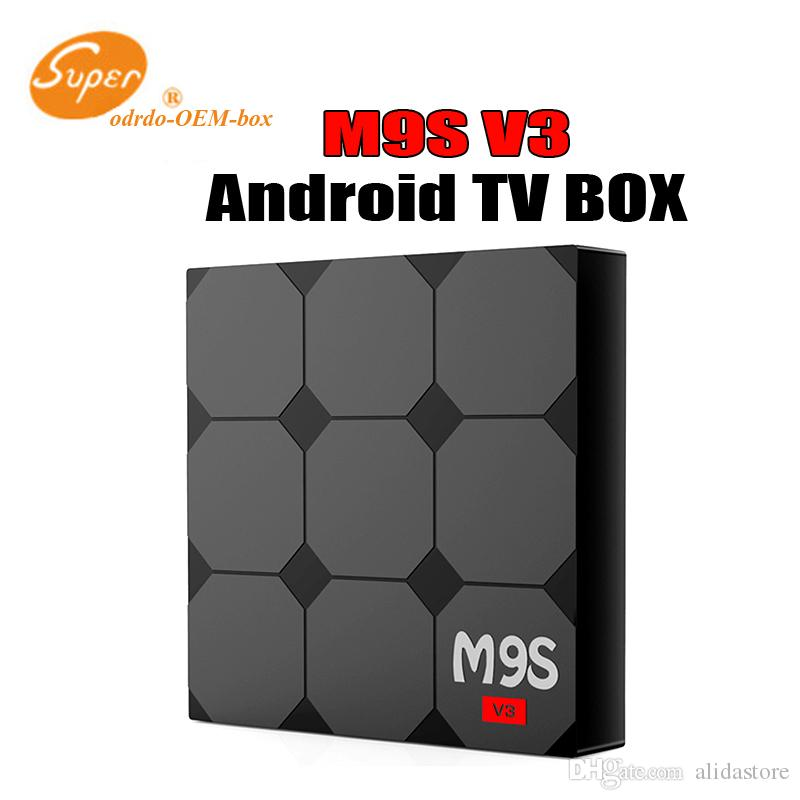 Android6.0 IPTV BOX M9S V3 1GB 8GB Rockchip RK3229 Smart TV Box 4K Live TV Box support 3D playback media players