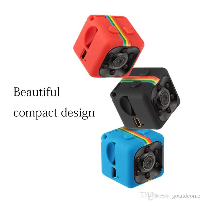 SQ11 Mini HD 1080P Camcorder Night Vision Camera Sports Mini DV DC Voice Video Recorder Support TF Card