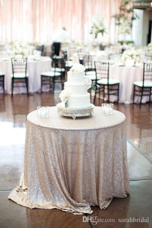 Bling Bling Sequins Wedding Decorations Table Cloth Glitter Evening