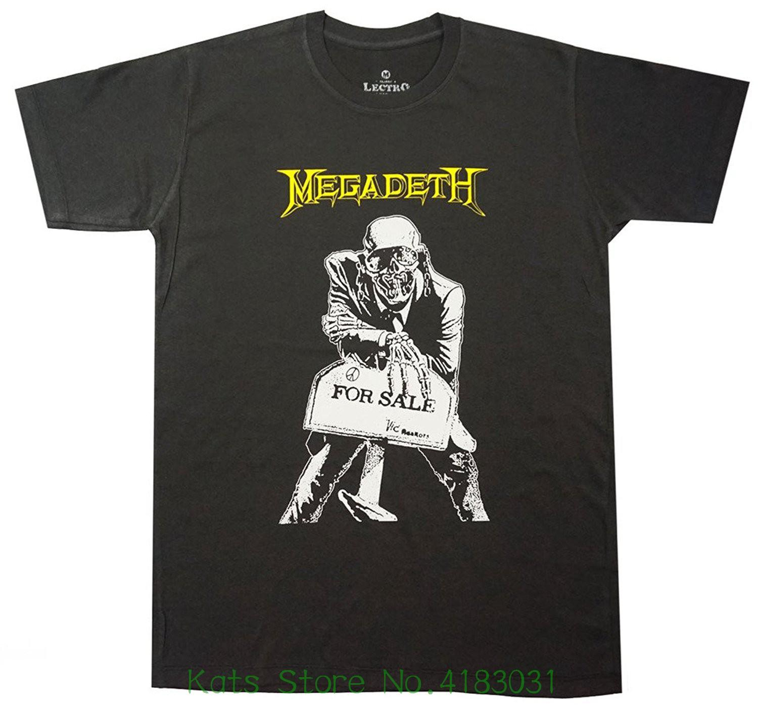 Lectro Megadeth Heavy Metal Band T-shirt