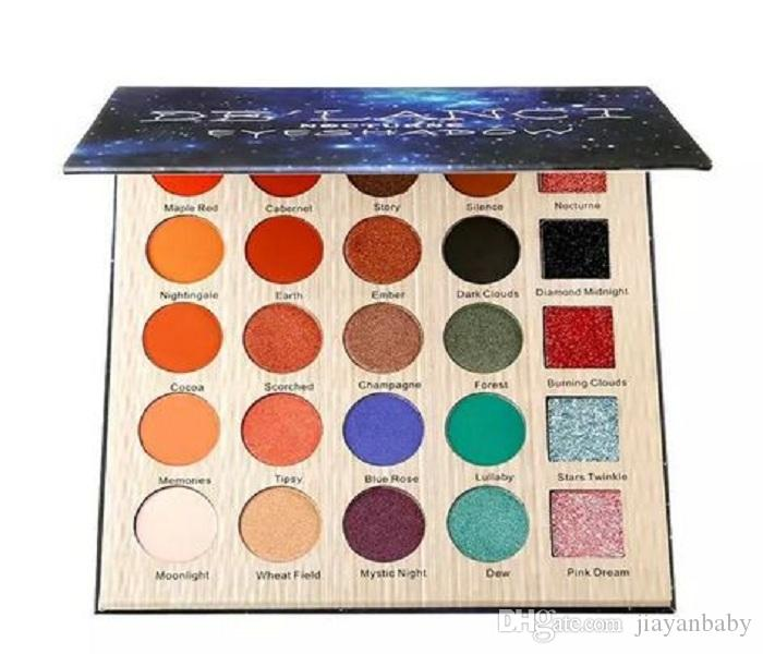 25 Colors Eyeshadow 25 Colors Glitter Eye Shadow Cosmetic Makeup Pallet Diamond Eyeshadow Powder Set DHL Free Ship