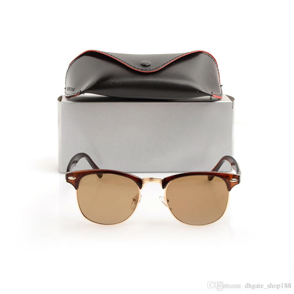 Compre Marca Designer Óculos De Sol De Alta Qualidade Óculos De Sol De  Metal Da Dobradiça Dos Homens Óculos 100% Proteção UV Óculos De Sol Das  Mulheres Com ... 175140411c