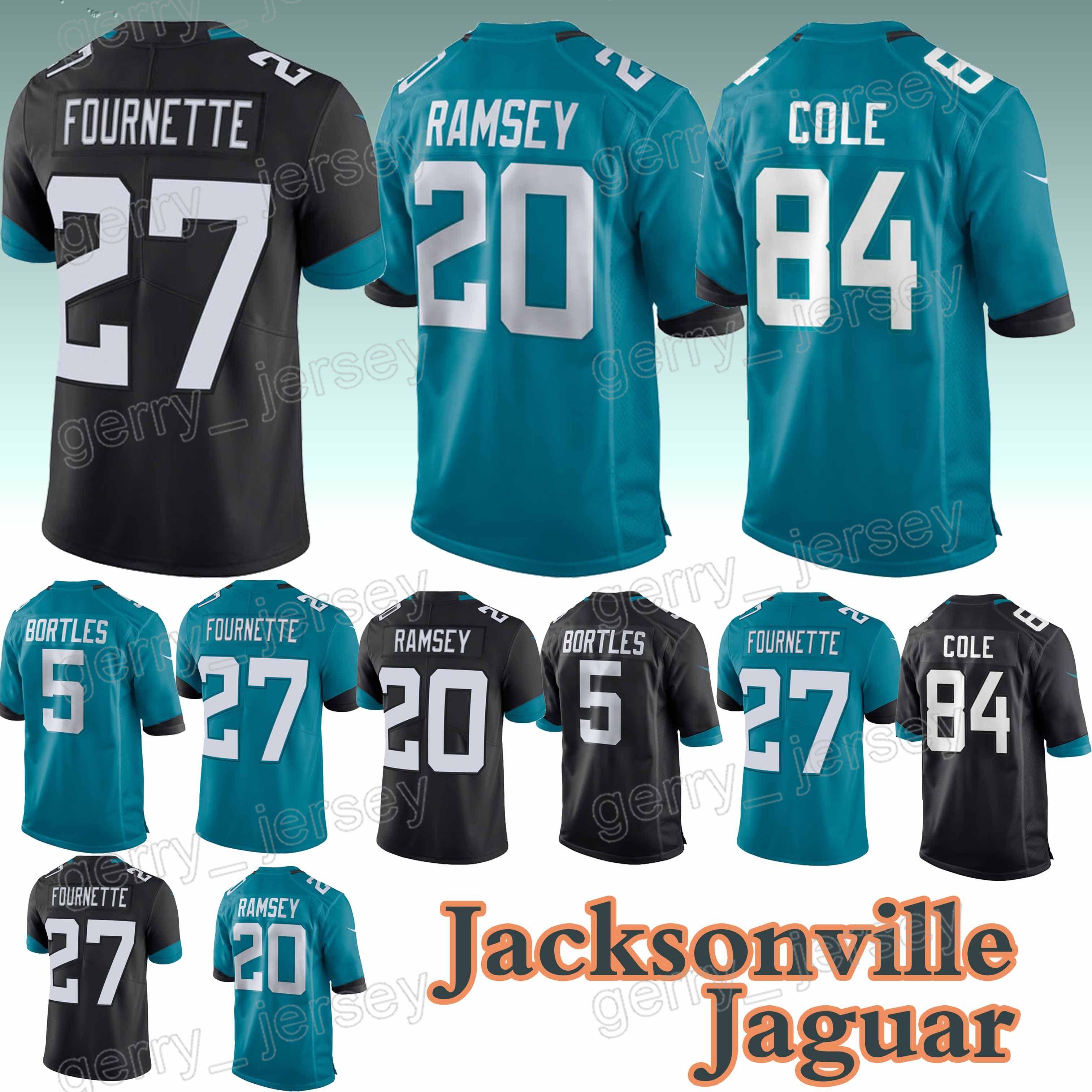 ea708d1d8 Jacksonville Jaguar Jerseys 27 Leonard Fournette 5 Blake Bortles 20 ...