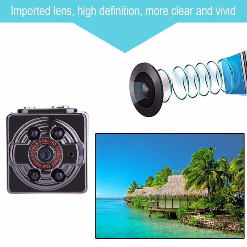 SQ8 Mini Câmera HD 1080 P 720 P digital Camera Esporte DV Gravador de Vídeo de Voz Noite Infravermelha Filmadora Menor Câmera Micro