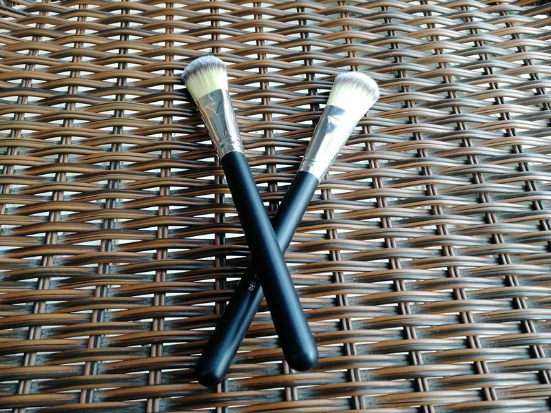 Heißer Verkauf Make-Up Pinsel M190 Flachpinsel # 190 Professionelle Foundation Erröten Pinsel Pulver Concealer Kontur Gesichtsbürsten holzgriff
