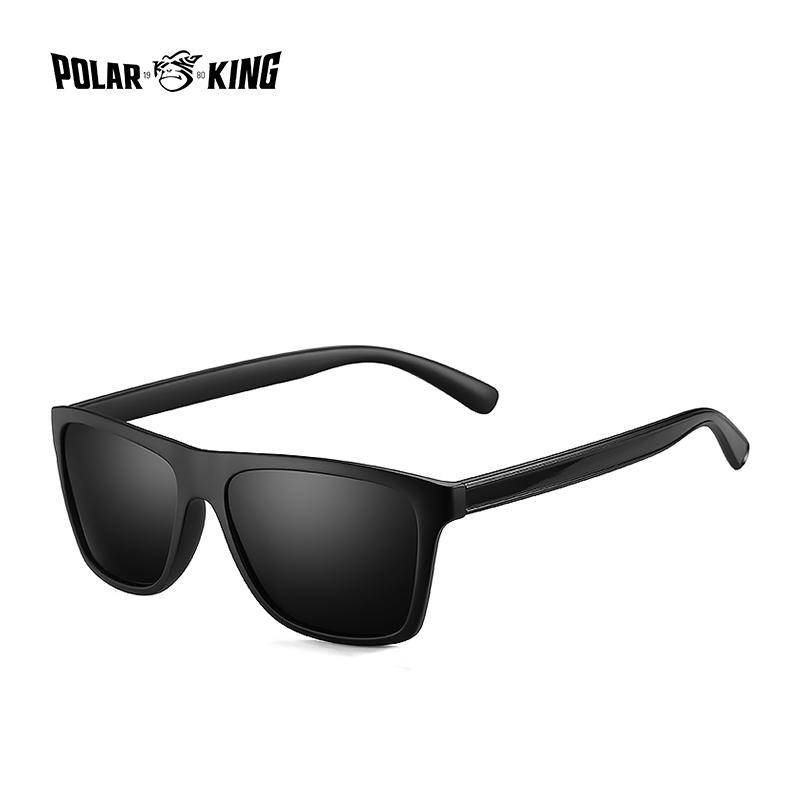 8273a42147 POLARKING Brand Retro Plastic Sun Glasses For Men Travel Oculos De Sol  Men S Polarized Sunglasses For Driving Fishing Eyewear Suncloud Sunglasses  Foster ...