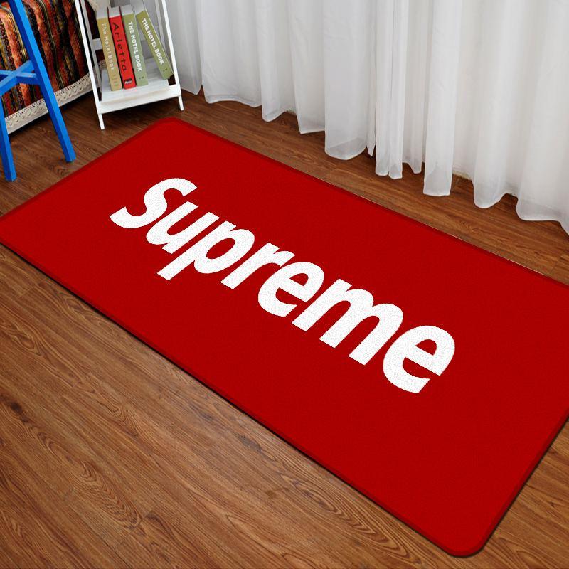 Großhandel Neue Rechteck Brief Muster Teppich Trend Beliebte Logo
