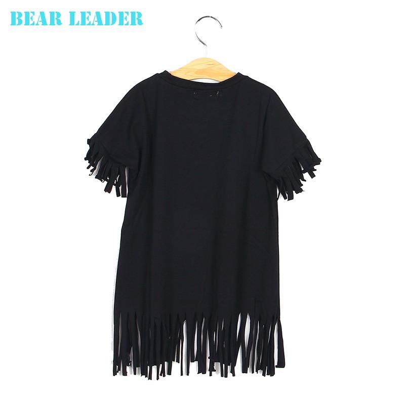 2016 spring and summer tassel skirt paternity Family Matching Outfits Mother And Daughter black wild fringed dress