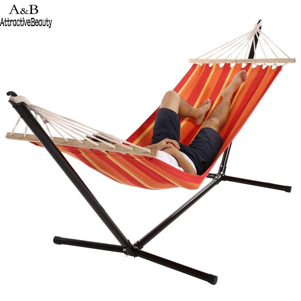 Homdox Single Outdoor Patio Stand Hammock Swing Striped With Portable  Carrying Bag N40* Hammocks Cheap Hammocks Homdox Single Outdoor Patio Stand  Online ...