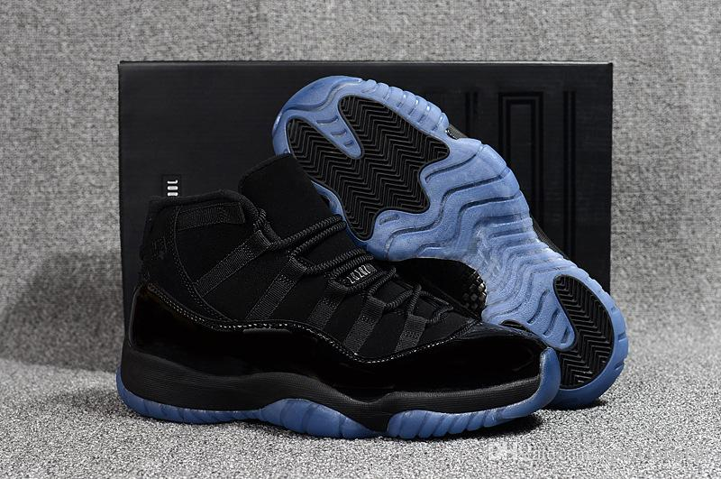 Cap And Gown 11s Blackout Men Basketball Shoes 11s Prom Night Sneakers With  Box Szie 41 47 Wholesale Price Online Shoe Shopping Youth Basketball Shoes  From ... 9f4014c79