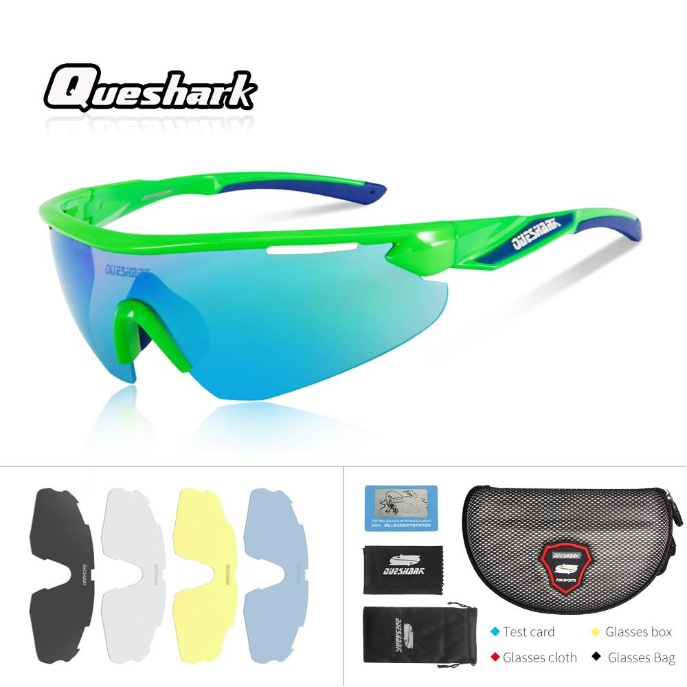 02e6c69c65 Queshark Professional Men Women HD Polarized Cycling Sunglasses Bicycle  Eyewear Ciclismo Glasses Mountain MTB Racing Goggles UK 2019 From  Hongmihoutao