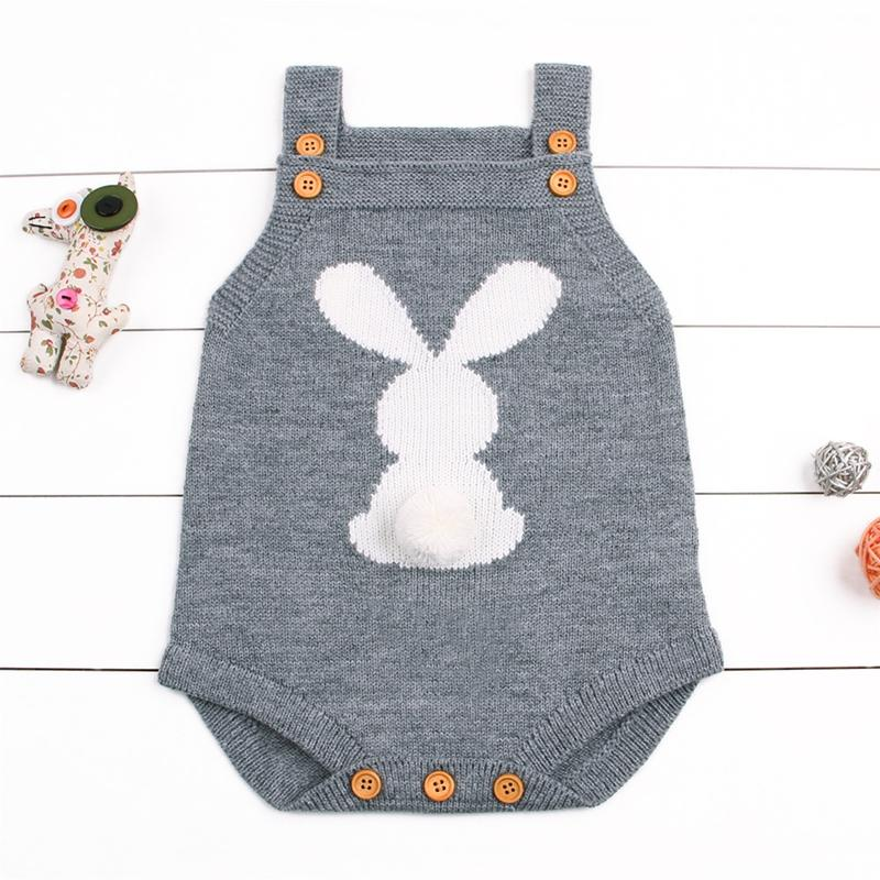 1a8e64670 2019 Fashion Baby Children Clothing Cute Rabbit Boy Girl Bunny Knitting  Wool Bodysuit Jumpsuit Outfit 0 24M From Yohkoh, $34.32 | DHgate.Com