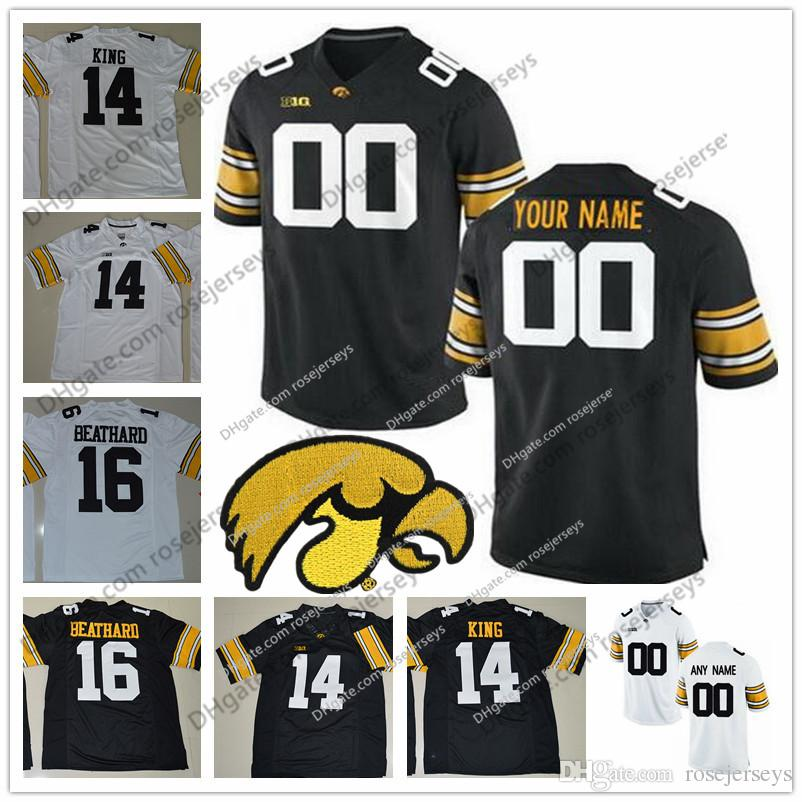 ... 2018 custom iowa hawkeyes college football jersey limited white black  personalized stitched any name any number 4f7895029