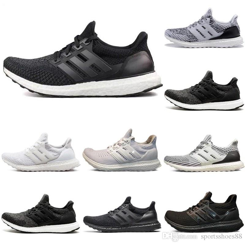 b2f6a00c84430 Factory Direct Sale Ultrashoes 3.0 4.0 Triple Black White Women Men Running  Shoes Oreo CNY Blue Grey Sports Sneaker Trainer Size 36 45 Running Clothes  ...