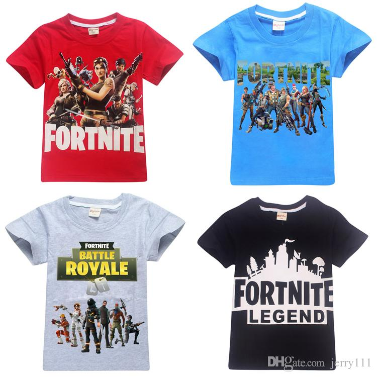 3addaba5f937a Acheter Garçons Filles Fortnite T Shirt 100% Coton 13 Dessins 6 ~ 14 Ans  Enfants T Shirt D été À Manches Courtes Enfants Vêtements Enfants Vêtements  LA777 ...