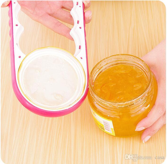 abridor de garrafas e garrafas criativo 4 em 1 dispositivo de tampa aberta com antiderrapante e torcer cap abridor de latas