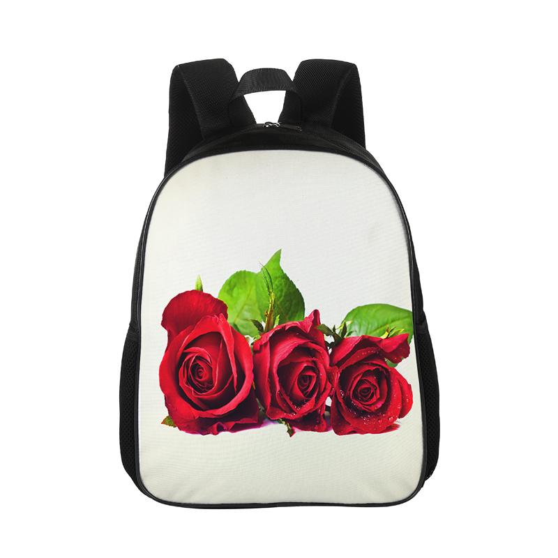 Custom Backpack Children S Student Bag Landscape Printing Cartoon Men S And Women S  Backpack Pattern Casual Beautiful Flowers Tool Backpack Best Laptop ... e31e8f87bd
