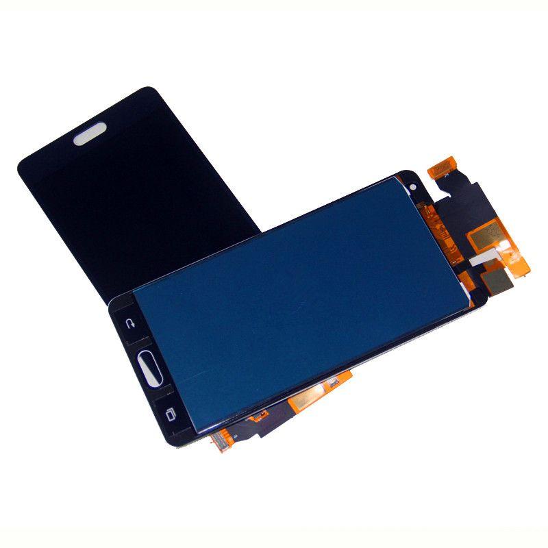 Para Samsung A5 LCD touch screen digitalizador A500 LCD monitor e componentes da tela de toque brilho não é ajustável