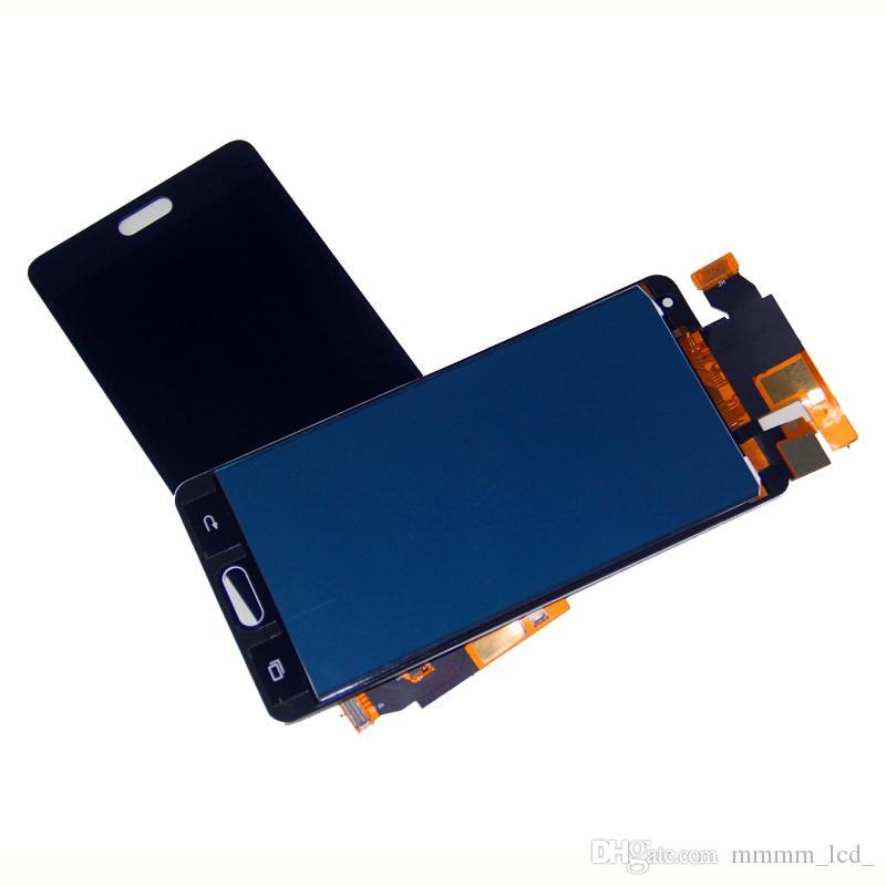 Для Samsung A5 LCD сенсорный экран дигитайзера ЖК-монитор A500 и компоненты сенсорного экрана яркость не регулируется