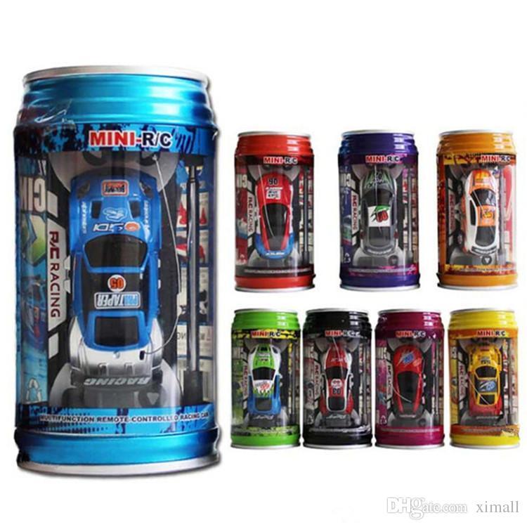 Mini-Racer Remote Control Car Coke Can Mini RC Radio Remote Control Micro Racing 1:64 Auto 8803 Giocattoli bambini