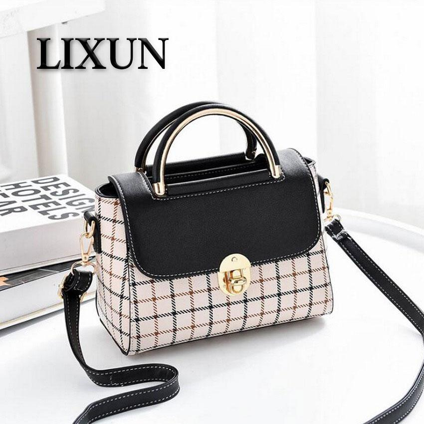 1ddfcf17 LIXUN Cute Flap PU Leather For Women Bag Ladies Shoulder Bags Casual Women  Handbags Crossbody Bags Girls Travel Bag Female Bolsa Satchel Bags Man Bags  From ...