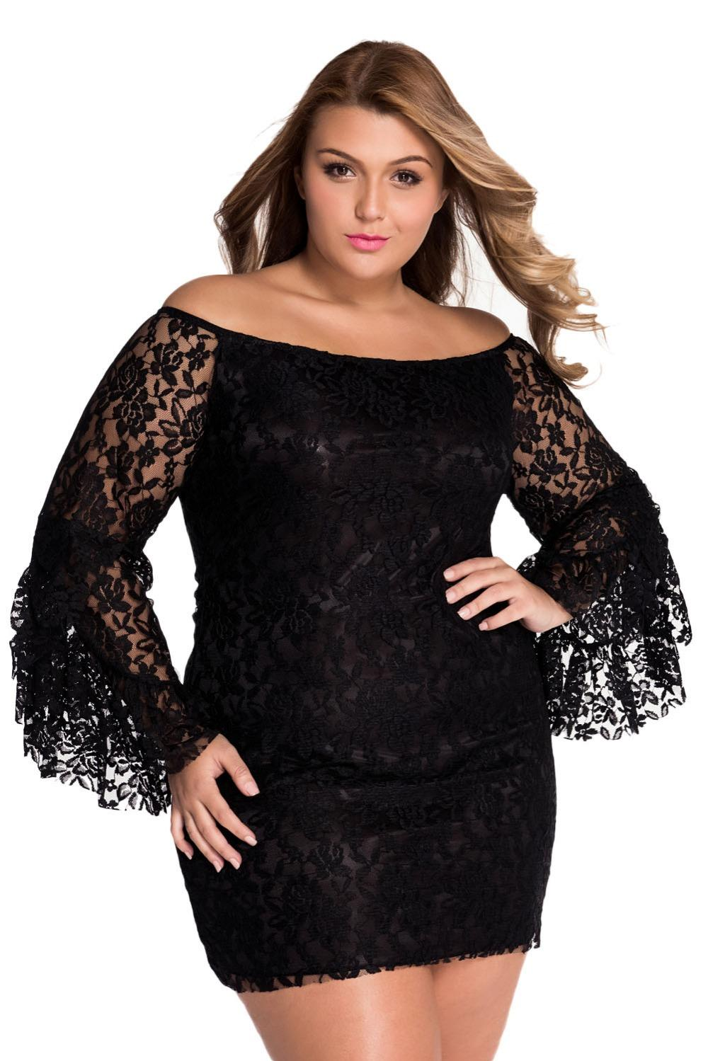 f4cabe8bb97d Hot Selling Hollow Out Ladies Cream Lace Off The Shoulder Mini Dress Sexy  Autumn Summer Women Black Cocktail Dresses Dresses For Juniors From  Xuxiaoniu2
