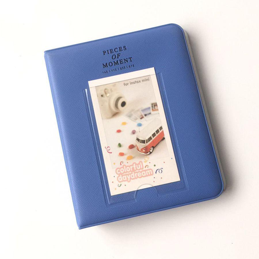 3f57cef7016e 2019 64 Pockets Fujifilm Instax Mini Films Instax Mini 8 7s 70 25 50s 90  Name Card Pieces Of Moment Photo Book Album From Xanto