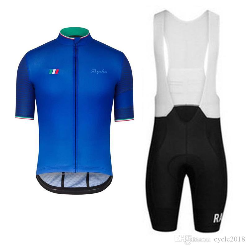 2017 Top Team Rapha Summer Quick Dry Cycling Jersey Set Short Sleeve Bicycle  Clothing Bike Wear Breathable Cycling Clothing And Bib Shorts Cycle Shorts  ... 7ad97a0d0