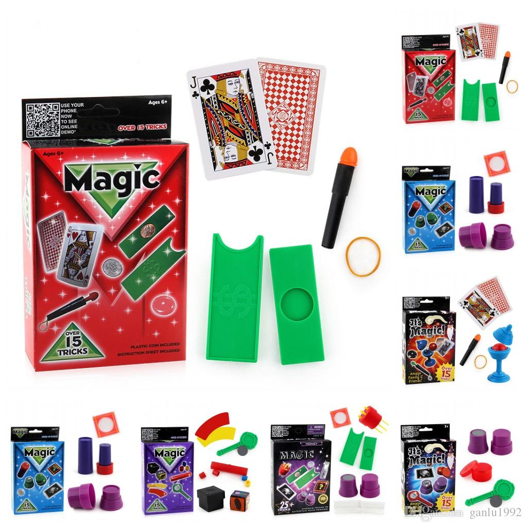 Multi Style Creative Fun Magic Props Gamme Range Stage Enfants Performer Outils Amazing Kids Conjuring Show Intéressant Jouets 4 6xd Z