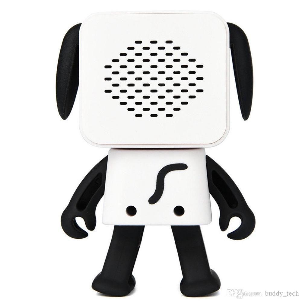 Mini dança bluetooth speaker super bonito alto-falante estéreo sem fio music player para iphone x 8 plus 7 plus samsung com caixa de varejo