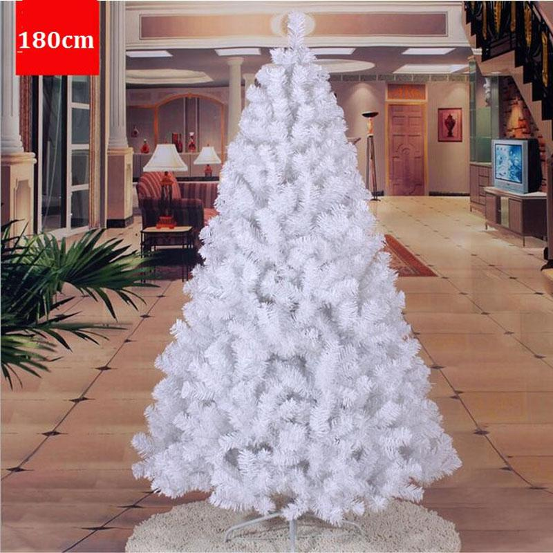 18 m 180cm widening encryption environmentally friendly material pvc white christmas tree decorated christmas gift za1482 christmas decorations on sale