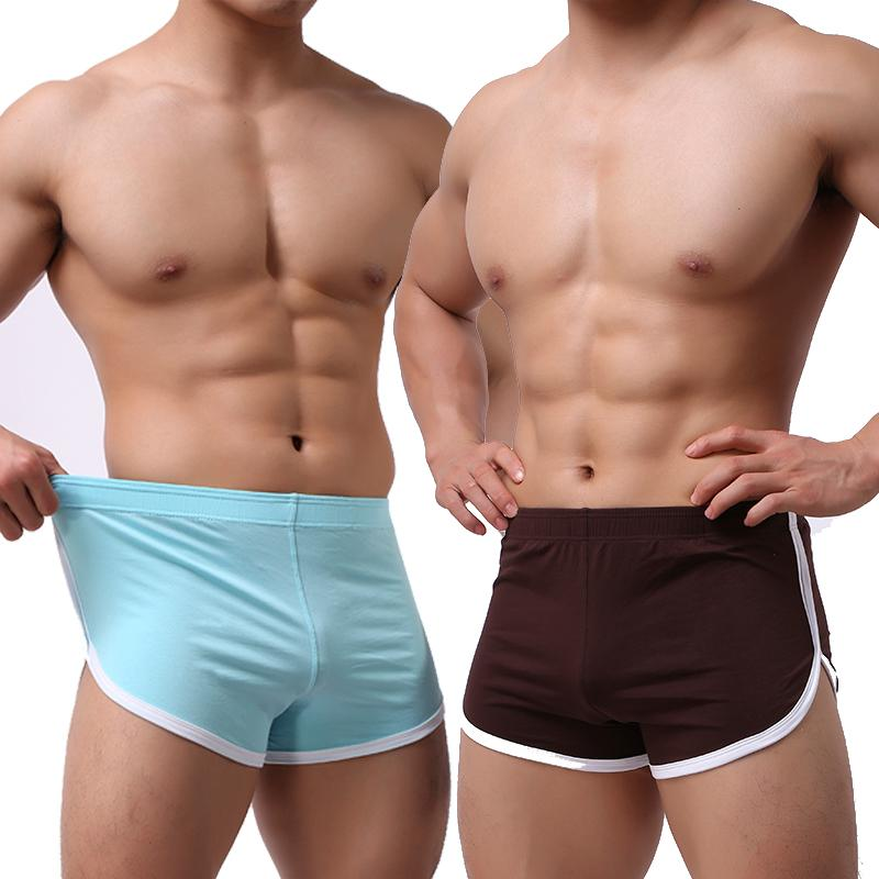 580397997d 2019 Mens Low Rise Running Tight Shorts Pajamas Comf Home Wear Sleepwear  Trunks Underpants Fitness Gym Bodybuilding Sportswear From Simmer, $25.06 |  DHgate.