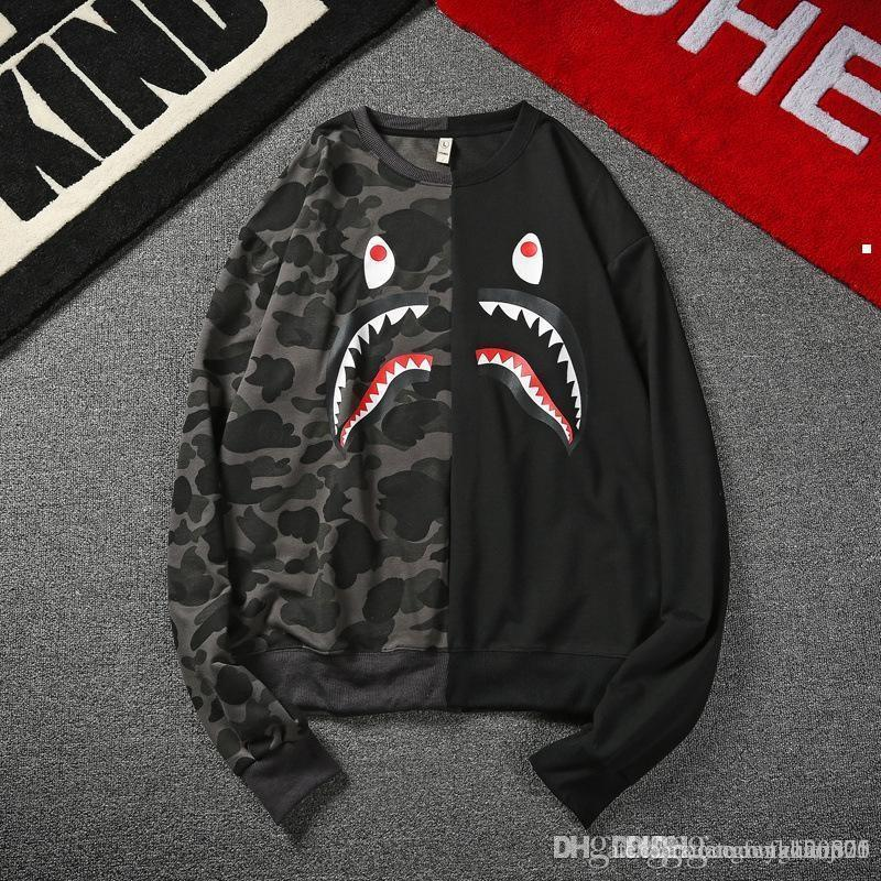 2018 shark 2018 mens christmas sweater with deer men pullover ugly christmas sweater mens cheap reindeer sweater knitted ma155 ky from dengfengzaoji05